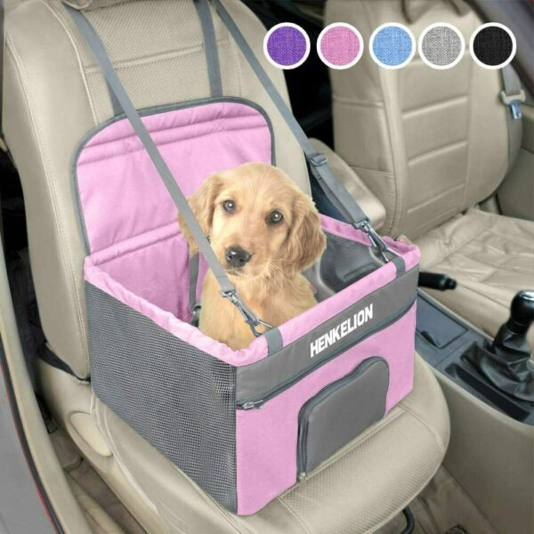 Henkelion Pet Dog Booster Seat Deluxe Pet Booster Car Seat for Small Dogs.. $38.99