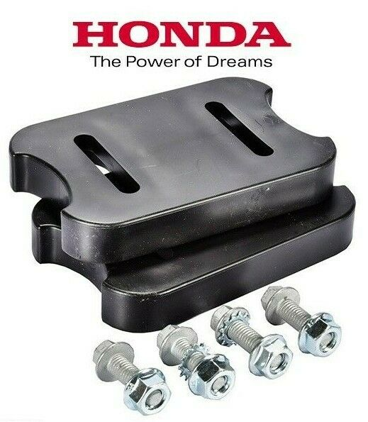 76153 736 000 Honda Snowblower skid shoe Poly Black Reversible