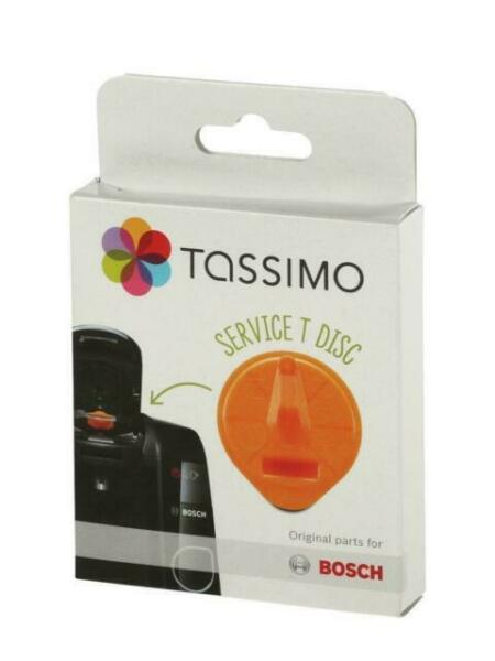NEW Tassimo Orange Service T Disc for Tassimo T47 T55 Bosch Part 17001491