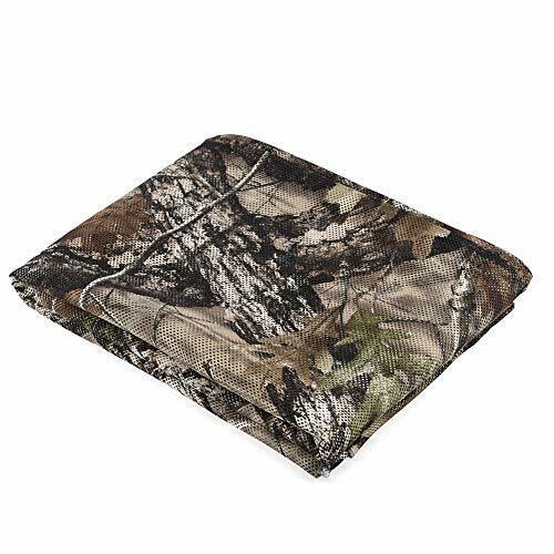 300D Camo Net Blind Burlap 4.9 ft Width for Camping Military Hunting Tree Stands
