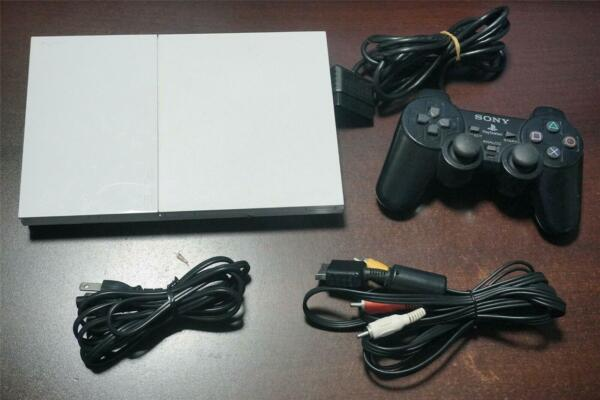 Playstation 2 Slim console white SCPH 90000 Japan PS2 System US Seller $140.00