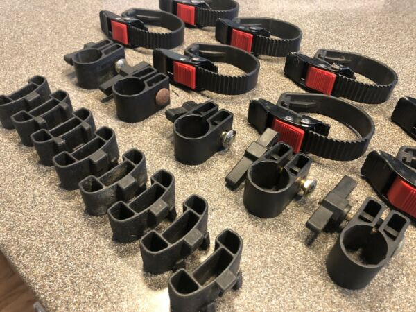 Yakima Rack Parts Straps Clamps Clips $140.00