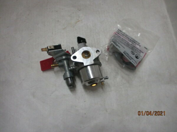 OEM BRIGGS CARBURETOR PART# 595318 $66.99