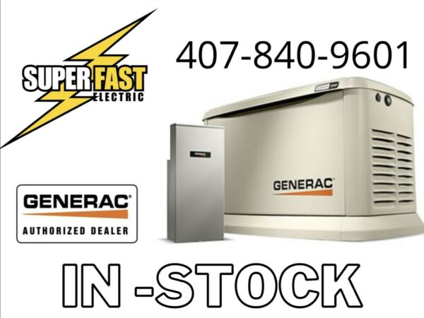 Generac Guardian Series 22KW Air Cooled Home Standby Generator w 200 amp ATS