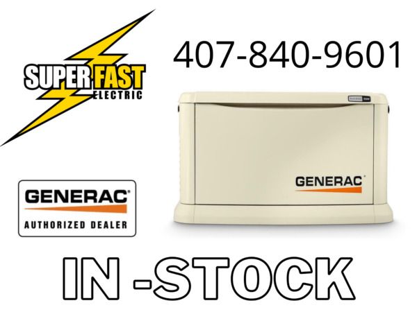 Generac 22KW Guardian Series Air Cooled Home Standby Generator ATS Seperate $6000.00