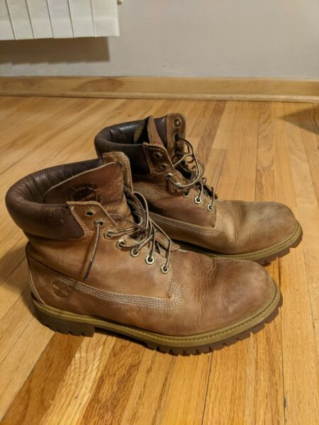 Men#x27;s Timberland Boots Size 10 $65.00