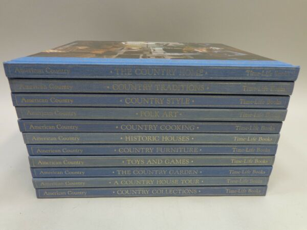 Your Choice Time Life American Country Series Hardcover Books $14.95