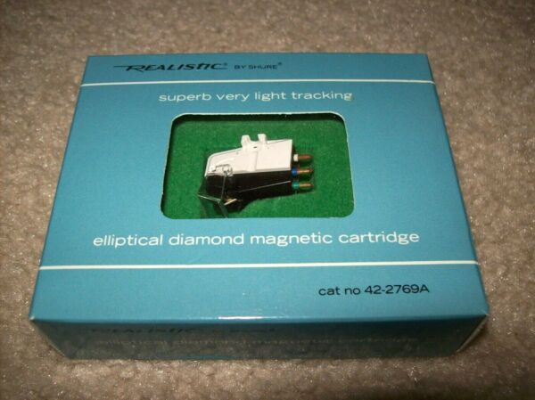 NOS Realistic R1000EDT Shure M75ED Type 2 Cartridge with Stylus NEW in BOX
