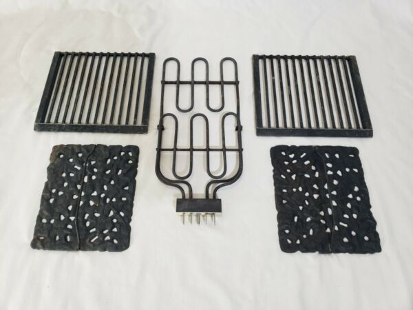 Jenn Air Electric Range Heating Element Rock Grill Oven Stove Grates