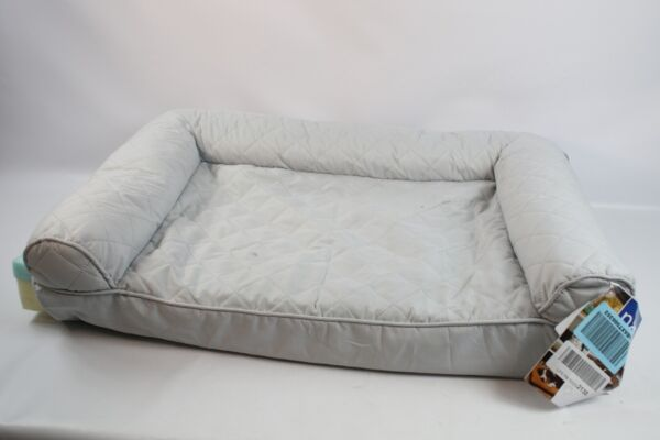 Furhaven Pet Quilted Cooling Gel Top Sofa Pet Bed Medium 85301017 Preowned $24.88