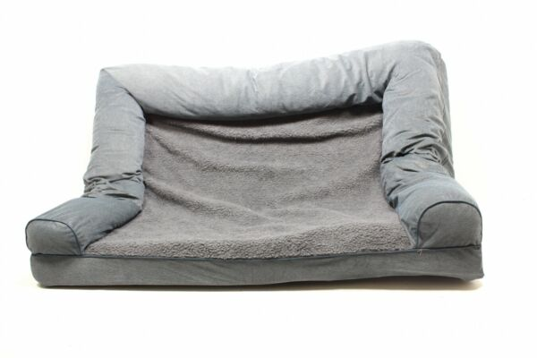 Furhaven Pet FurHaven Orthopedic Dog Couch Sofa Bed for Dog 45503225 Preowned $32.05