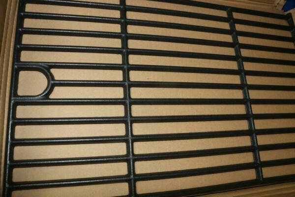 Cast Iron Grill Grate 17 In Length x 11 In Width 3 Pack