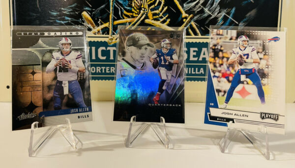 2020 Josh allen 3 card Lot. Panini Illusion Absolute amp; Playoff. $7.50