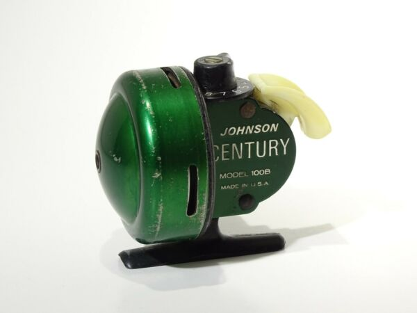 Vintage Johnson CENTURY MODEL 100B MADE IN U.S.A. CASTING REEL