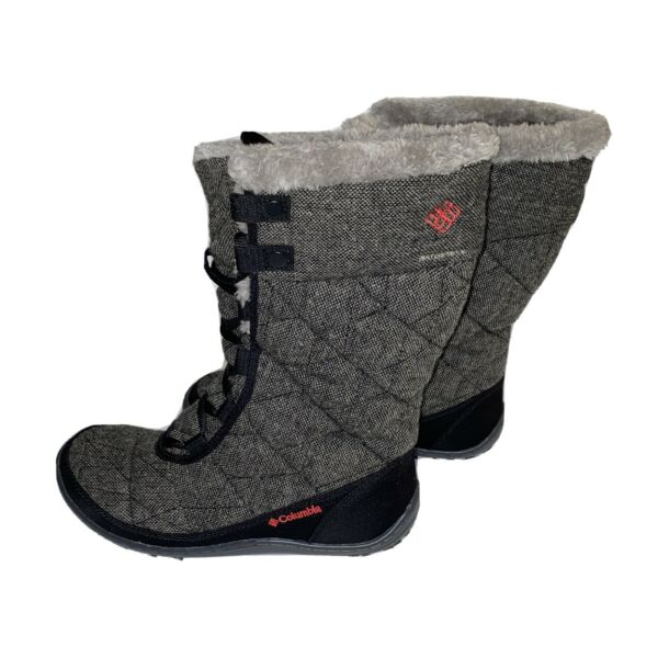 Columbia Womens 8 Minx Mid II Omni Heat Grip Wool Waterproof Winter Snow Boots