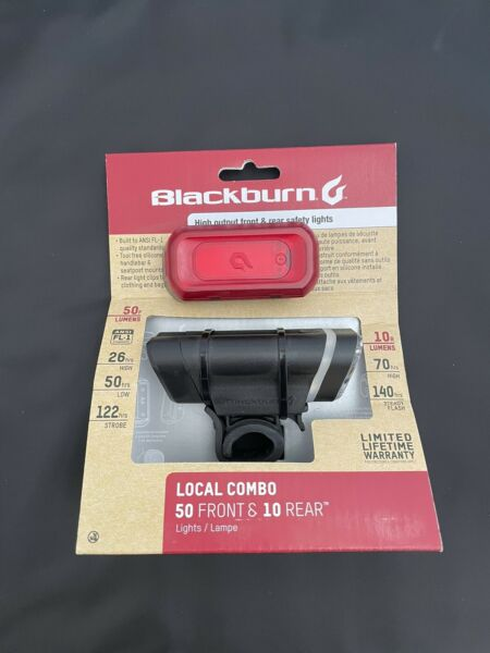 Blackburn Bicycle Lights High Output Front and Rear Safety Lights 7053782 NEW $20.00