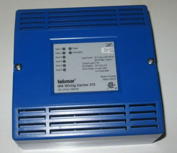 Tekmar tN4 Wiring Center 315 AS IS $50.00