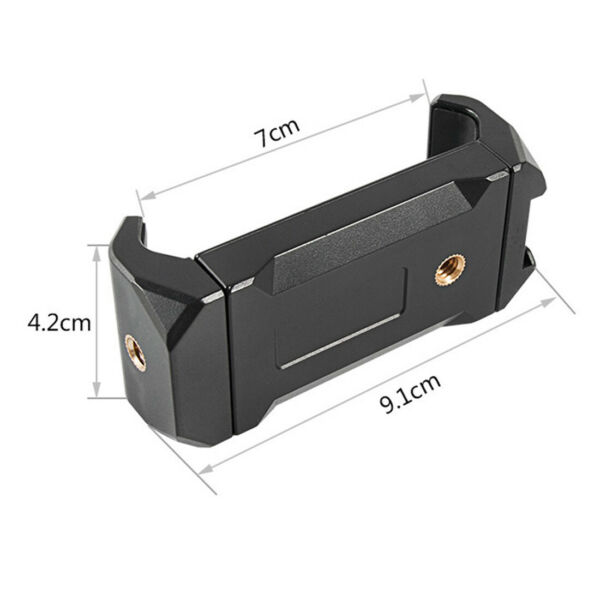 FEICHAO Plastic Mobile Phone Clip Clamp Bracket Holder Stand Retractable Mount $6.03