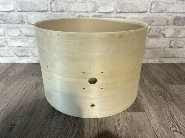 """Bare Wood Drum Shell 16""""x11"""" Bare Wood Project Upcycle"""