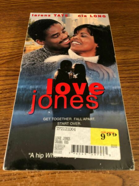 Love Jones VHS VCR Video Tape Movie Nia Long Larenz Tate New Sealed