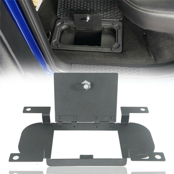 Lockable Rear In Floor Metal Storage Security Lid fit Dodge Ram 1500 2009 2018 $43.08