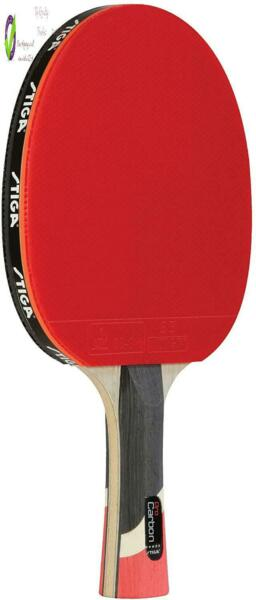 Stiga Pro Carbon Performance Level Table Tennis Racket With Carbon Technology Fo $73.83