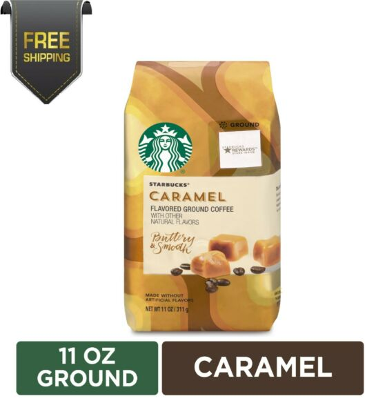 Starbucks Coffee Caramel Flavored Ground Coffee 11 oz.