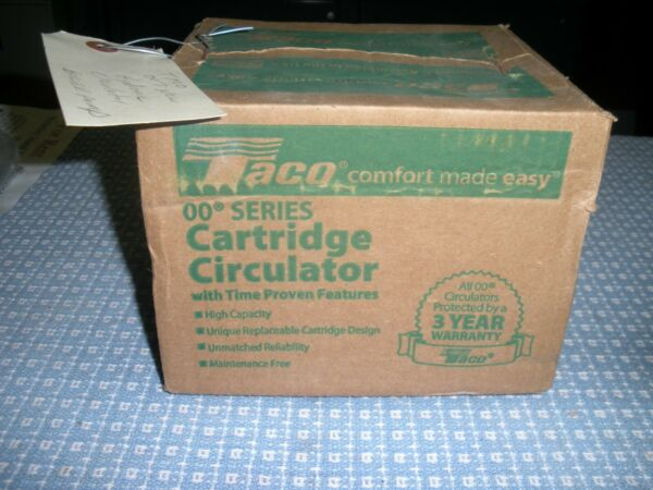 TACO 007 HF5 17C New Hydronic Circulator boiler pump new in box $105.00