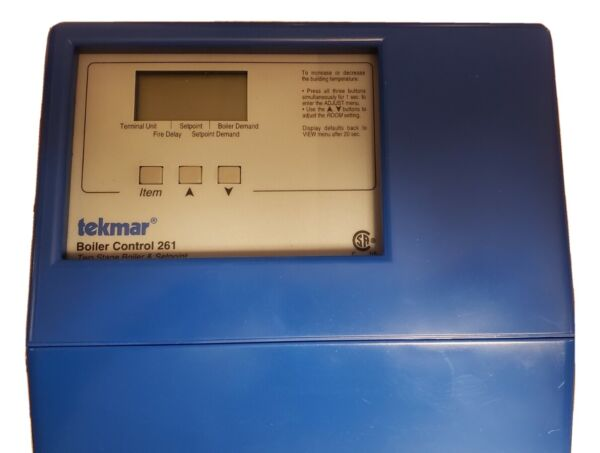 Used Tekmar 261 2 stage boiler controller $105.00