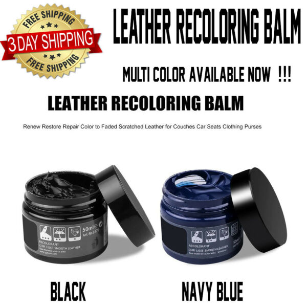 Leather Repair Cream Kit Color Restorer For Furniture Couches Sofas Car Seats