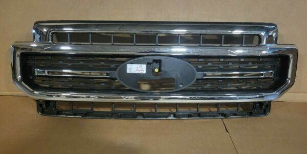 New Take Off 2020 2021 Ford Super Duty Lariat Sport Grille CHROME $369.95