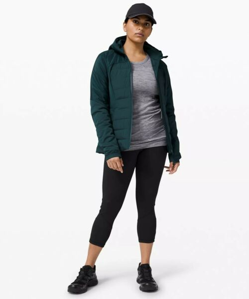 NWT Lululemon Down For It All Jacket Submarine women Size 4 $129.00