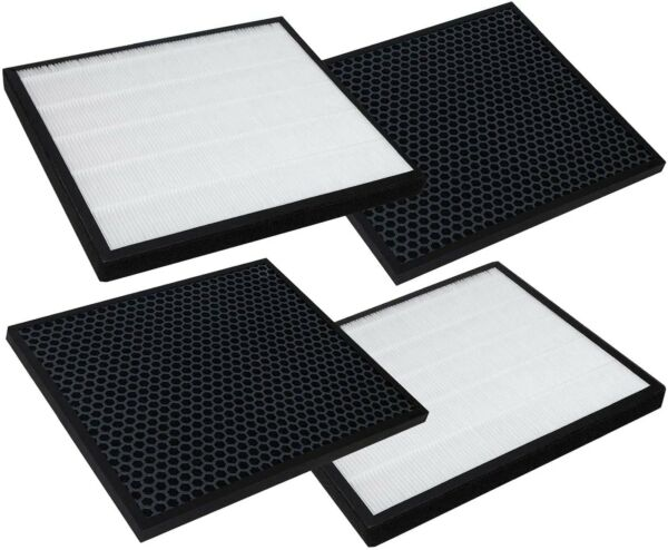 HEPA and Activated Carbon Filters Set 2 Pack by PartsBroz $34.49
