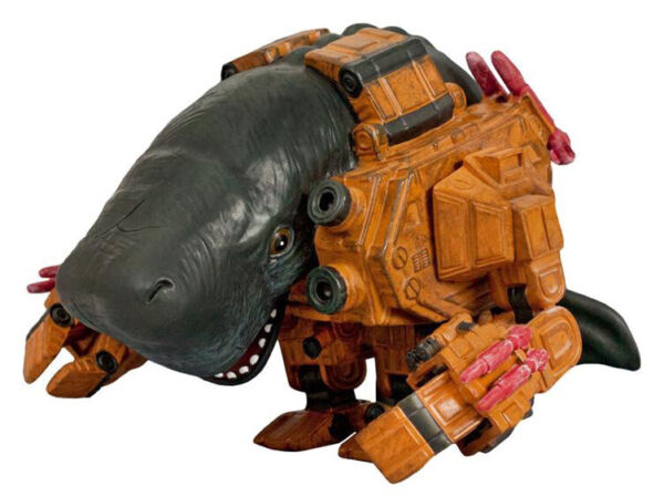 Mecha Whales Deep Fried Figures Urban Designer Vinyl Long Sold Out New In Box $75.00