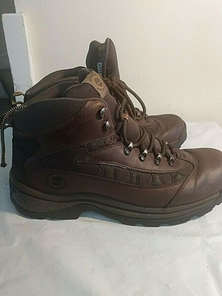 MEN#x27;S TIMBERLAND WORK OR HIKING BOOTS SIZE 12 M $29.95