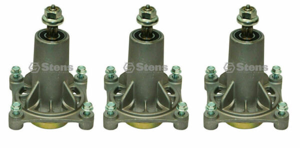 Stens 285 585 3PK Spindle Assembly AYP 187292 Ariens Husqvarna Lawn Mowers