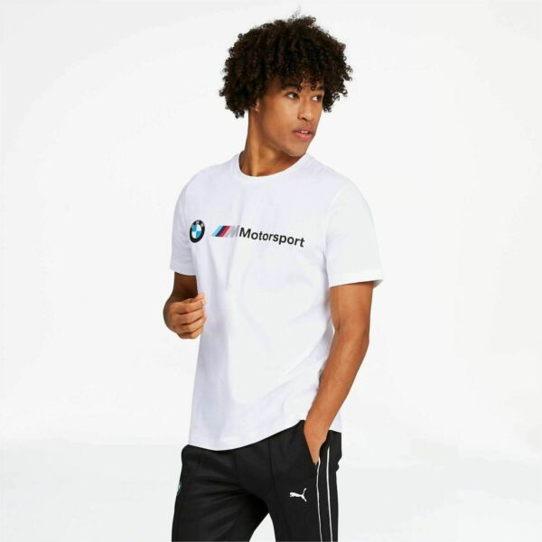 595369 02 Mens Puma BMW Motorsport Logo Tee