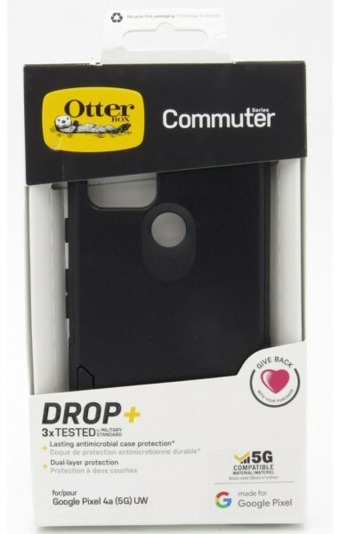 Otterbox Commuter Series Dual Layer Case for the Google Pixel 4a 5G UW Black