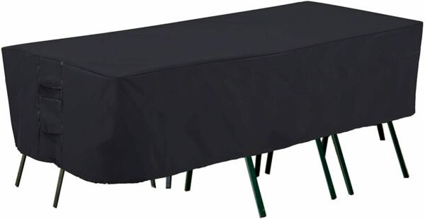Patio Furniture Covers Heavy Duty Outdoor Table Cover Waterproof Rectangular U