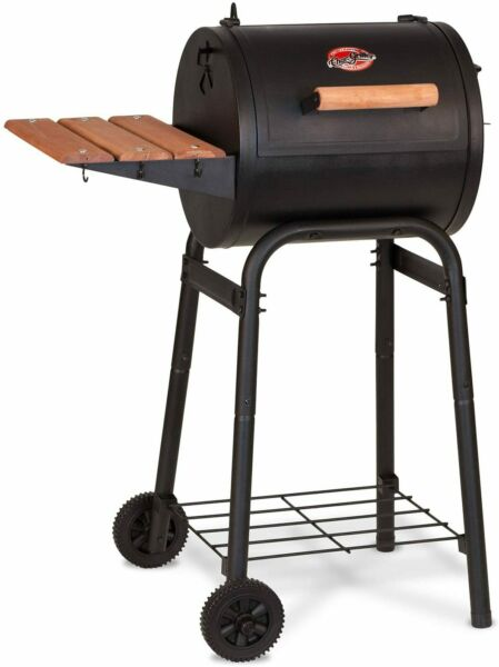 Char Griller E1515 Patio Pro Charcoal Grill Black