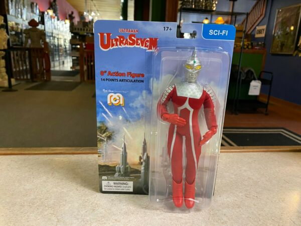 2021 Mego Ultra Man ULTRASEVEN 8quot; Action Figure MOC IN STOCK