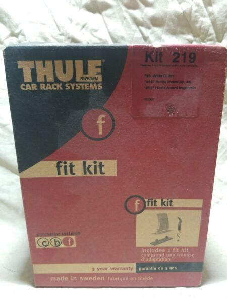 THULE Rack System Kit 219 NOS BRAND NEW 96 ACURA CL 94 97 HONDA ACCORD $49.99