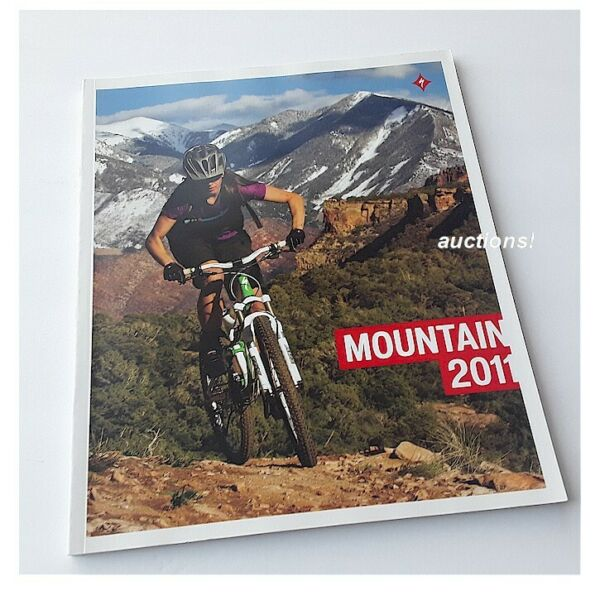 Specialized Mountain Road Bike Bicycles 2011 Catalogue Brochure Uncirculated $8.43