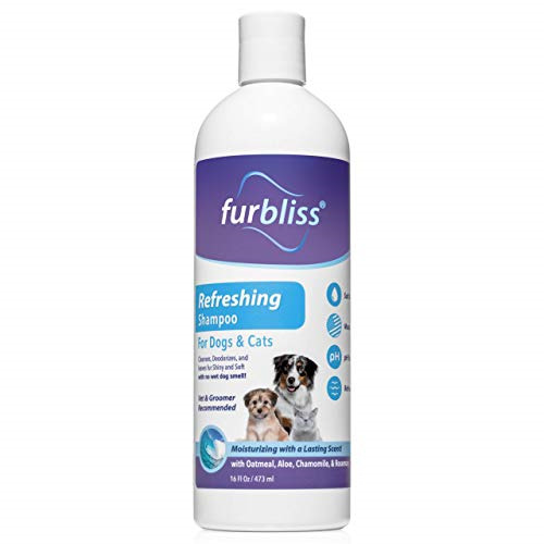 Furbliss Dog amp; Cat Shampoo with Essential Oils Leaves No Wet Dog Smell Cleans $18.42