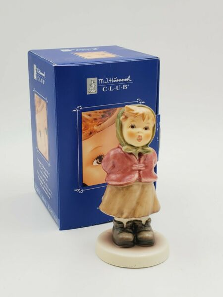 Goebel Hummel Clear As A Bell # 2181 3.75quot; w box and certificate $18.95