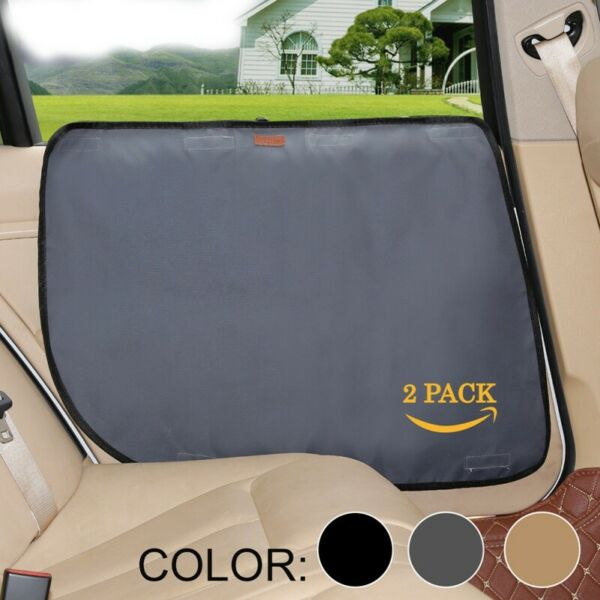 2pcs Vehicle Door Protector Dog Car Side Panel Guard Truck Shield Scratch Cover $13.59