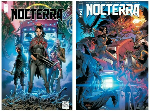 Nocterra #2 Cover A B Variant Set Options Image NM