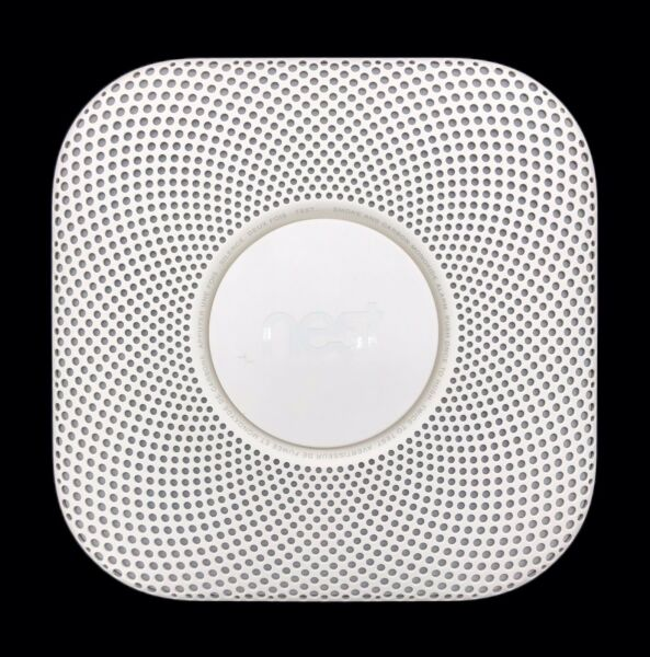 Nest Protect Model 06A Smoke amp; Carbon Monoxide Alarm Battery Operated White $49.95