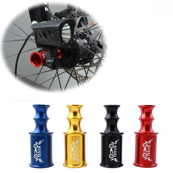 Rear Dial Protector Extension Light Mount Bicycle Accessories Wheel Lamp Holder C $7.41