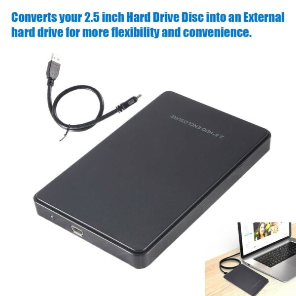 USB3.0 2TB Speed External Hard Drives Portable Connect 2.5 inch hard drive To PC
